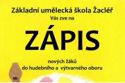 ZÁPIS DO ZUŠ 27. - 28. 5. 2019